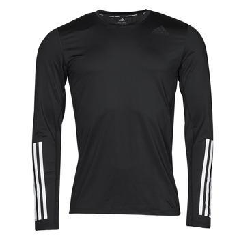 tekstylia Męskie T-shirty z długim rękawem adidas Performance TF LS FT 3S Czarny