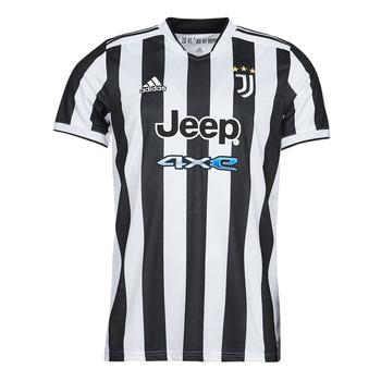 tekstylia T-shirty z krótkim rękawem adidas Performance JUVE H JSY Biały