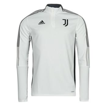 tekstylia Bluzy dresowe adidas Performance JUVE TR TOP Biały