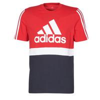 tekstylia Męskie T-shirty z krótkim rękawem adidas Performance M CB T Ecarlate