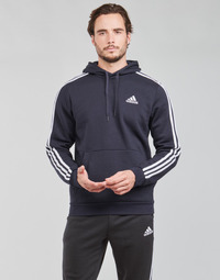 tekstylia Męskie Bluzy adidas Performance M 3S FL HD Encre / Légende