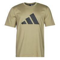 tekstylia Męskie T-shirty z krótkim rękawem adidas Performance M FI 3B TEE Zielony / Orbite