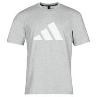 tekstylia Męskie T-shirty z krótkim rękawem adidas Performance M FI 3B TEE Bruyère / Szary / Moyen