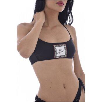 tekstylia Damskie Bikini: góry lub doły osobno Karl Lagerfeld KL21WTP12 Czarny