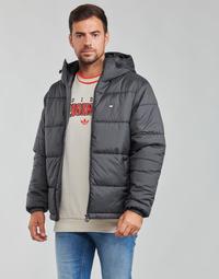 tekstylia Męskie Kurtki pikowane adidas Originals PAD HOODED PUFF Czarny