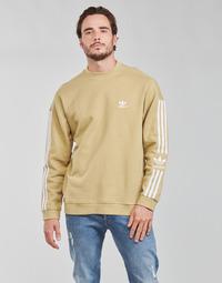 tekstylia Męskie Bluzy adidas Originals LOCK UP CREW Ton / Beżowy