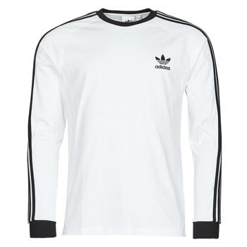 tekstylia Męskie T-shirty z długim rękawem adidas Originals 3-STRIPES LS T Biały