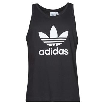 tekstylia Męskie Topy na ramiączkach / T-shirty bez rękawów adidas Originals TREFOIL TANK Czarny