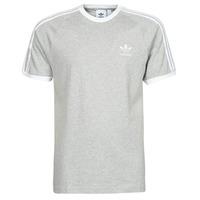 tekstylia Męskie T-shirty z krótkim rękawem adidas Originals 3-STRIPES TEE Bruyère / Szary / Moyen