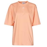 tekstylia Damskie T-shirty z krótkim rękawem adidas Originals TEE Blush / Ambiant