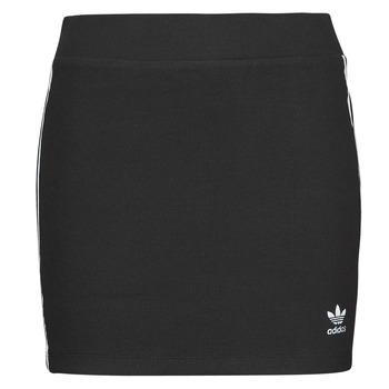 tekstylia Damskie Spódnice adidas Originals 3STRIPES SKIRT Czarny
