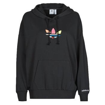 tekstylia Damskie Bluzy adidas Originals HOODIE Czarny