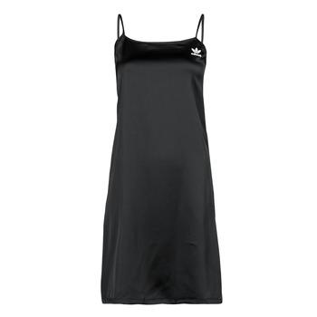 tekstylia Damskie Sukienki krótkie adidas Originals DRESS Czarny