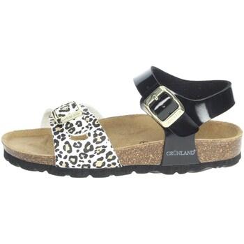 Buty Dziewczynka Sandały Grunland SB1525-40 'Czarny/'Biały