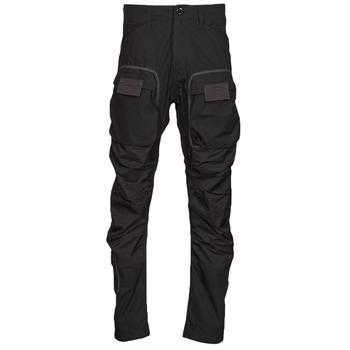 tekstylia Męskie Spodnie bojówki G-Star Raw 3D STRAIGHT TAPERED CARGO Czarny