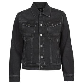 tekstylia Damskie Kurtki jeansowe G-Star Raw ARC 3D JACKET Czarny