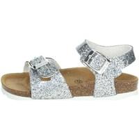 Buty Dziewczynka Sandały Grunland SB1656-40 srebrny