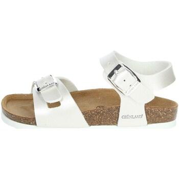 Buty Dziewczynka Sandały Grunland SB0646-40 perłowy