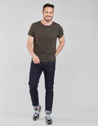 tekstylia Męskie Jeansy straight leg Lee DAREN ZIP FLY Niebieski