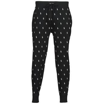 tekstylia Męskie Spodnie dresowe Polo Ralph Lauren JOGGER PANT SLEEP BOTTOM Czarny