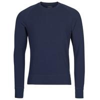 tekstylia Męskie T-shirty z długim rękawem Polo Ralph Lauren LS CREW SLEEP TOP Marine