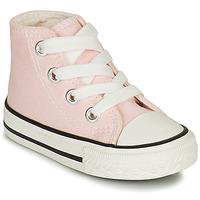 Buty Dziewczynka Trampki wysokie Citrouille et Compagnie NEW 19 Różowy