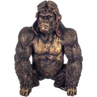 Dom Statuetki i figurki  Signes Grimalt Orangutan W Okularach Dorado