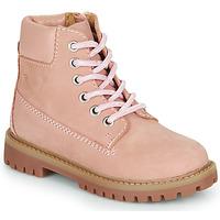 Buty Dziewczynka Buty za kostkę Citrouille et Compagnie PACITO Różowy