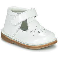 Buty Dziewczynka Baleriny Citrouille et Compagnie OTALI Biały / Vernis