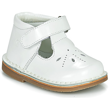 Buty Dziewczynka Baleriny Citrouille et Compagnie OTAL Biały / Vernis