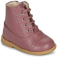 Buty Dziewczynka Buty za kostkę Citrouille et Compagnie PUMBAE Różowy