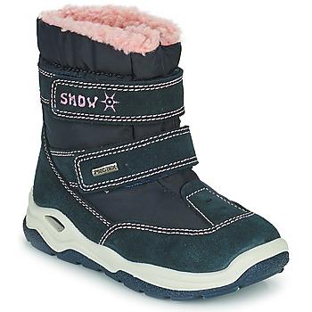 Buty Chłopiec Śniegowce Citrouille et Compagnie POUDOU Niebieski / Różowy