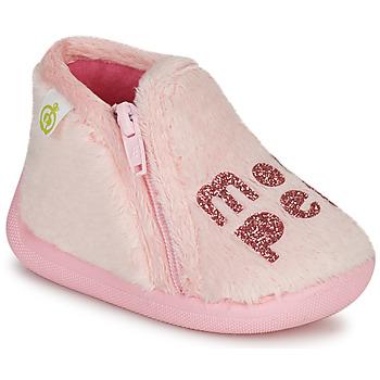 Buty Dziewczynka Obuwie domowe Citrouille et Compagnie PRADS Różowy
