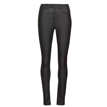 tekstylia Damskie Spodnie z pięcioma kieszeniami Noisy May NMCALLIE Czarny