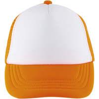 Dodatki Czapki z daszkiem Sols BUBBLE KIDS Blanco Naranja Fluor Naranja