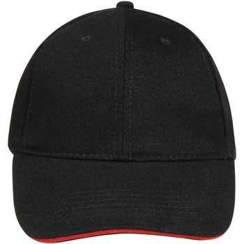 Dodatki Czapki z daszkiem Sols BUFFALO Negro Rojo Multicolor