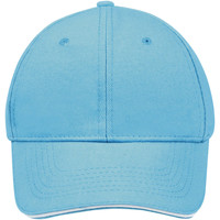 Dodatki Czapki z daszkiem Sols BUFFALO Azul Turquesa Blanco Multicolor