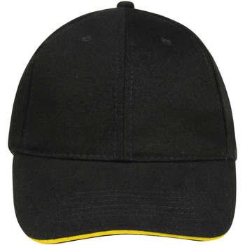 Dodatki Czapki z daszkiem Sols BUFFALO Negro Amarillo Multicolor