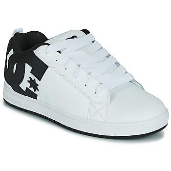 Buty Męskie Buty skate DC Shoes COURT GRAFFIK Biały / Czarny