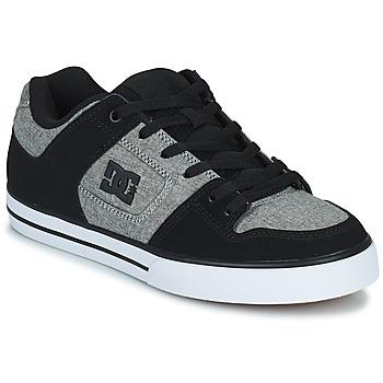 Buty Męskie Buty skate DC Shoes PURE Szary / Czarny