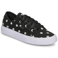 Buty Damskie Trampki niskie DC Shoes MANUAL TXSE Czarny / Biały