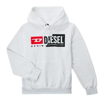 tekstylia Dziecko Bluzy Diesel SGIRKHOODCUTYX OVER Biały
