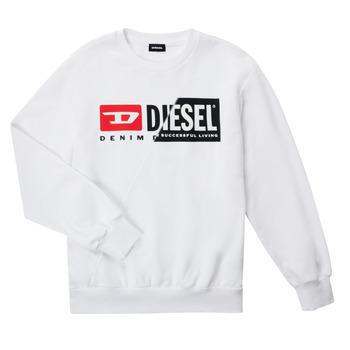 tekstylia Dziecko Bluzy Diesel SGIRKCUTY OVER Biały