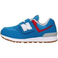 Buty Chłopiec Trampki niskie New Balance PV574BWV Niebieski