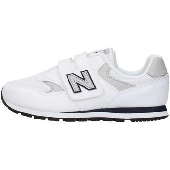 Buty Chłopiec Trampki niskie New Balance YV393CWN Biały