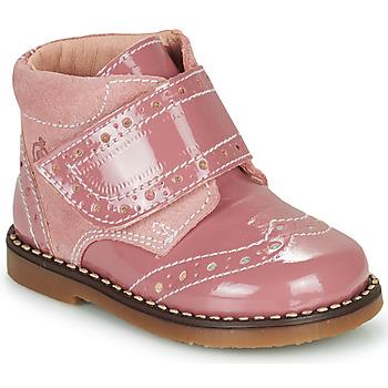 Buty Dziewczynka Buty za kostkę Citrouille et Compagnie PROYAL Różowy / Vernis