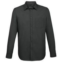 tekstylia Męskie Koszule z długim rękawem Sols BALTIMORE FIT NEGRO Negro
