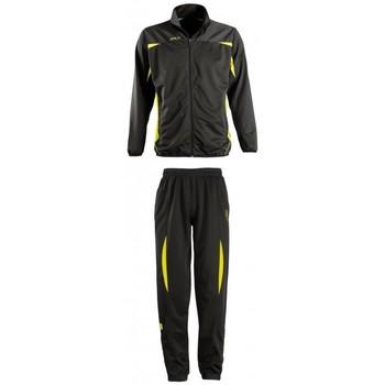 tekstylia Zestawy dresowe Sols CAMP NOU Negro-amarillo Negro