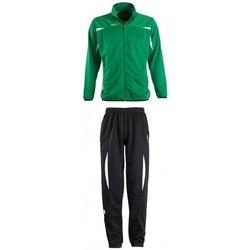 tekstylia Zestawy dresowe Sols CAMP NOU Verde Negro Verde