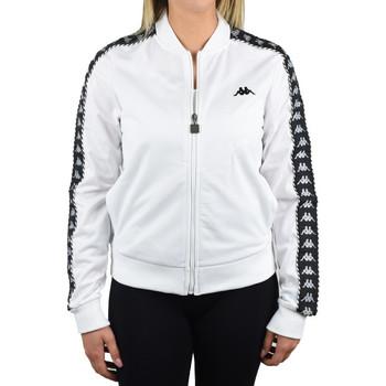 tekstylia Damskie Bluzy dresowe Kappa Imilia Training Jacket Biały